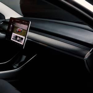 Bilde av TesBros Dashbord-folie Tesla Model 3 & Y