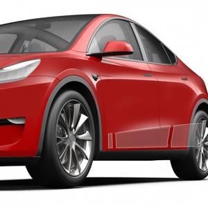 Bilde av Beskyttelse kanaler Tesla Model Y